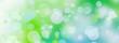 canvas print picture - natur abstrakt kreise banner bokeh