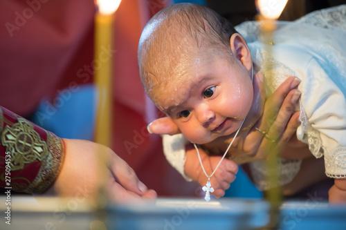 Fotografia Baptism of a newborn child