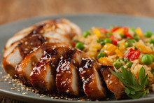 Grilled Chicken Breast In Teri...