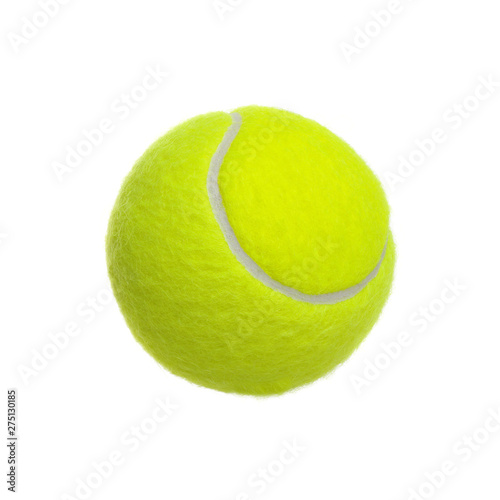Valokuva tennis ball isolated on a white background.