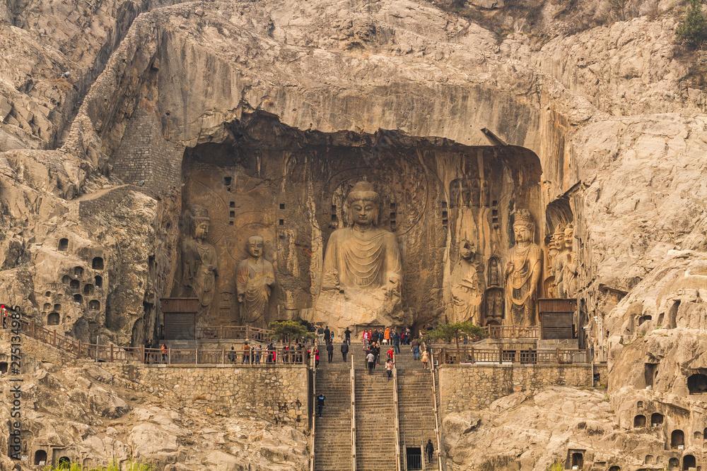 Fototapety, obrazy: Longmen grottoes