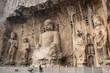 Leinwanddruck Bild - Longmen grottoes