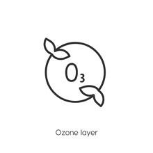 Ozon Layer  Icon. Ozon Layer I...