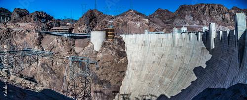 Fotografering hoover dam lake mead arizona nevada
