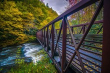 Scenic Views Along Virginia Creeper Trail