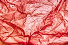 Texture Rosso Stropicciato