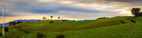 Fotografie, Obraz picturesque autumn landscape in west virginia