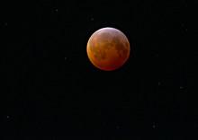 Blood Moon Lunar Eclipse 2019