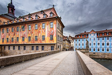 Old Cityhall In The Old Town Of Bamberg, Germany