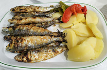 Traditional Portuguese Food Of...