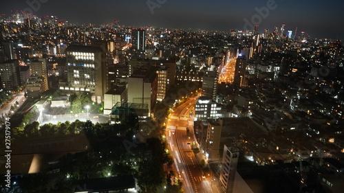 Fototapeta 夜景 obraz na płótnie