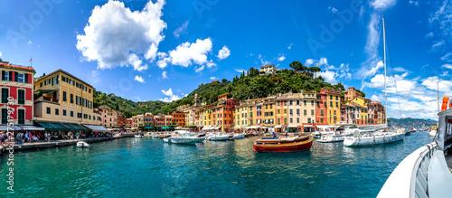Canvas Prints Panorama von Portofino, Italien