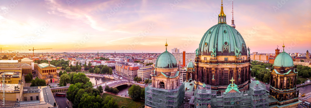 Fototapety, obrazy: Berliner dom after sunset, Berlin