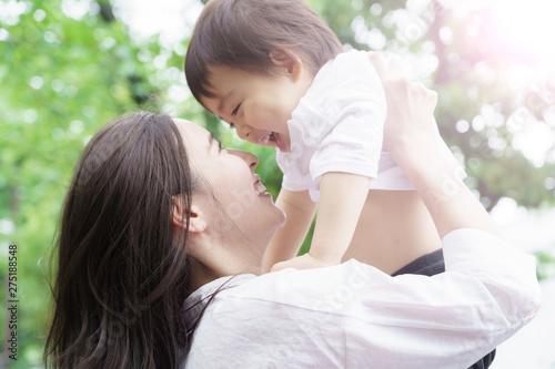 Cuadros en Lienzo 母親 子育て