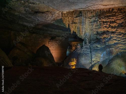 Cathedral Cavern State Park near Guntersville, Alabama, USA