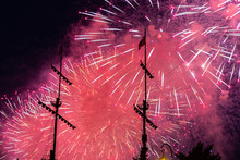 Fireworks Ship  Background Fes...