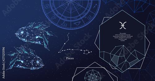 Fotografía Zodiac sign Pisces