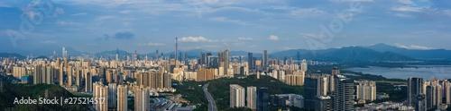 Canvas Prints Kuala Lumpur Shenzhen Futian District City Buildings Skyline Scenery