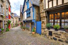 Jerzual Street, Dinan, Brittany, France