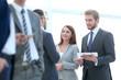 Leinwanddruck Bild - Business Team Meeting Discussion Break Concept