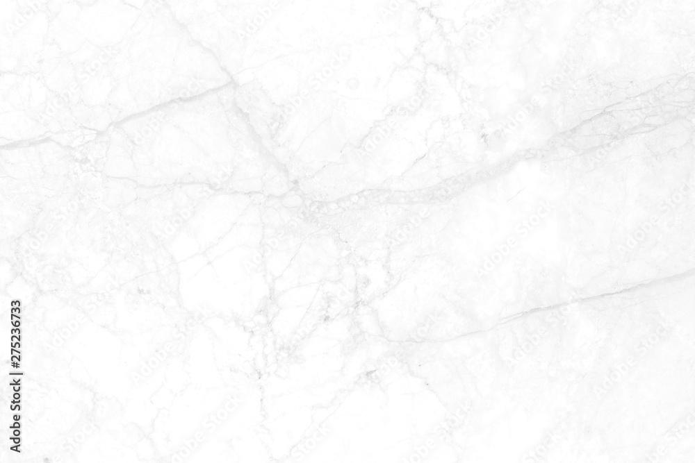Fototapety, obrazy: White marble has broken marks, beautiful patterns.