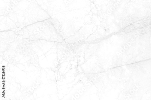 White marble has broken marks, beautiful patterns. - 275236733