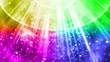rainbow light down background animation