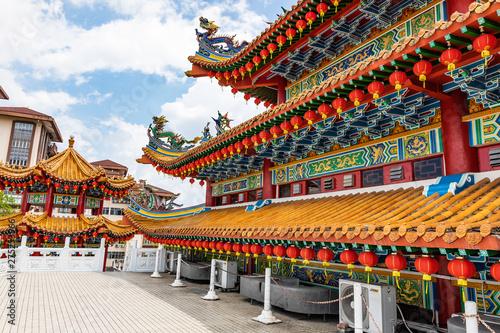 Poster de jardin Kuala Lumpur Thean Hou Temple in Kuala Lumpur during Chinees New Year