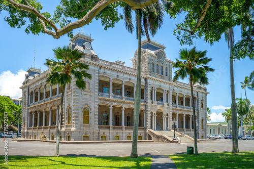 Obraz Iolani Palace in Honolulu, Hawaii, US - fototapety do salonu