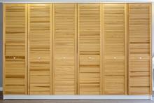 Wardrobe Made Of Thin Wooden P...