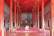 Leinwanddruck Bild - buddhist temple (Wat That Luang Neua) in vientiane (laos)