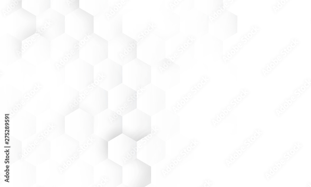 Fototapeta hexagon concept design abstract technology background vector EPS10