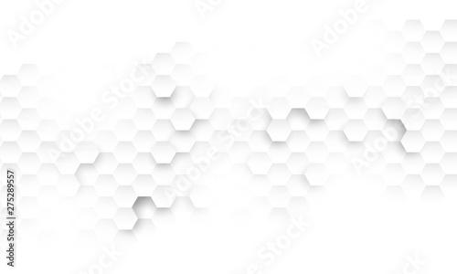Obraz hexagon concept design abstract technology background vector EPS10 - fototapety do salonu