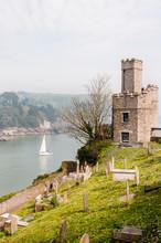 Dartmouth, Schloss, Burg, Dart...
