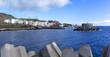 La Restinga, El Hierro, Kanarische Inseln - Blick über die Hafeneinfahrt auf den Ort