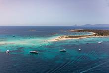 Formentera Sea, Spain, Aerial View