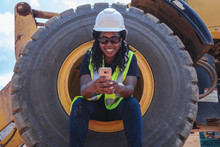 Portrait Of Diverse Construction Worker