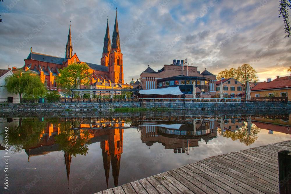 Fototapety, obrazy: Uppsala Cathedral