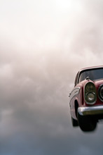 Vintage Car In The Sky