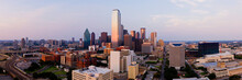Downtown Dallas At Sunset