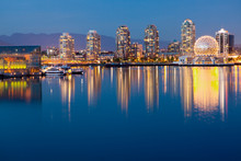 Downtown Vancouver Across The ...