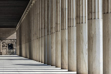 Row Of Marble Columns