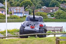 The Sherman Tank At Slapton Sa...