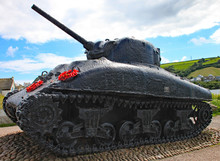 The Sherman Tank At Slapton Sa...