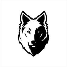 Wolf Bolt Emblem, Mascot Head ...