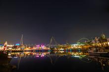 Universal Studios Japan At Night