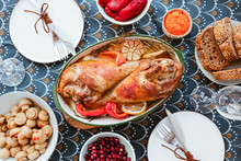 Festive Dish For Thanksgiving,...