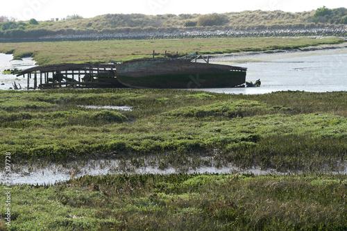 Photo Shipwreck ashore