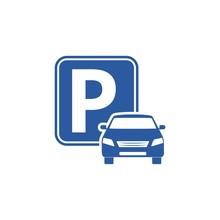 Logo Parking, Parking Icon, Pa...