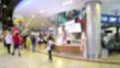 Blurred, People walking and shopping in mall
